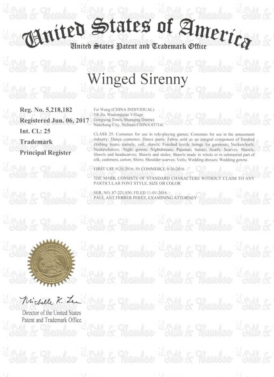 winged sirenny copyright