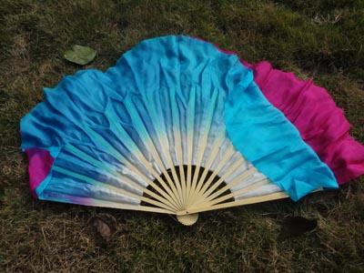 20cm silk over 30cm bamboo