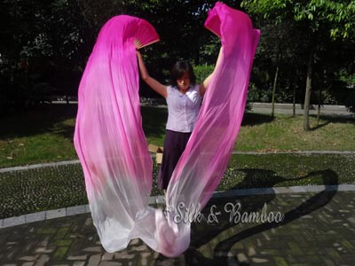 Clearance sale 1G silk fan veils