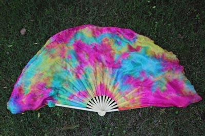 30cm silk over 30cm bamboo